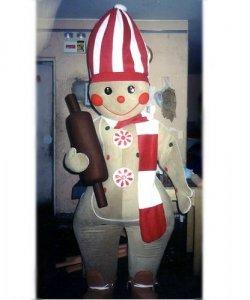 Chodząca maskotka - Świąteczny Pierniczek Kucharz II