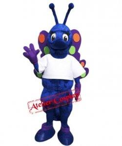 Strój chodzącej maskotki - Motyl Kolorek