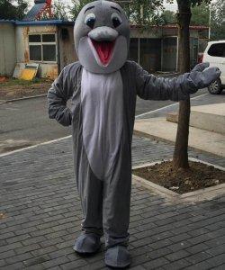 Strój chodzącej maskotki - Delfin Classic