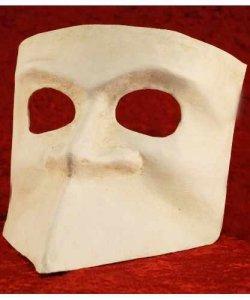 Maska wenecka - Bauta Blanca