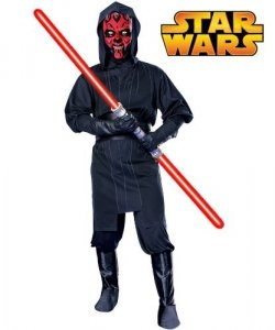 Kostium z filmu - Star Wars Darth Maul
