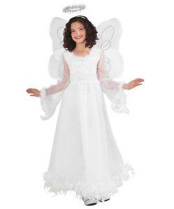 Skrzydła i aureola dla dziecka - Anioł