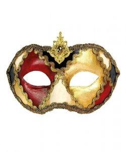 Maska wenecka - Colombina Scacchi VII