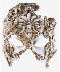 Maska wenecka - Diamond Helmet