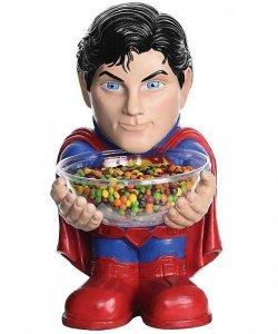 Ozdoba - Stojak na słodycze Superman 50 cm