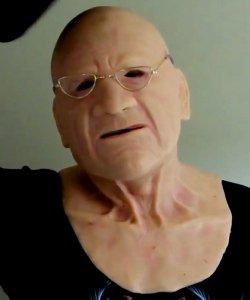Maska silikonowa - Starzec Roger