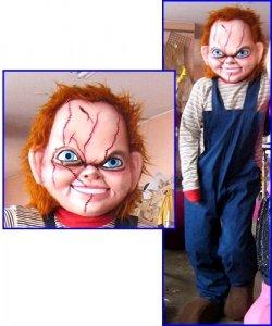 Strój reklamowy - Chucky Horror Doll