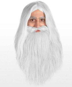 Pełny zarost - Święty Mikołaj / Czarodziej