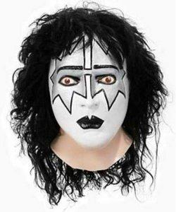 Maska lateksowa z peruką - Kiss Spaceman