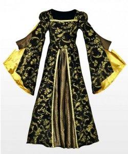 Kostium teatralny - Królewska Suknia Balowa