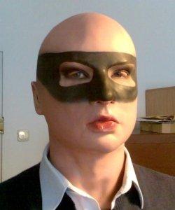 Maska lateksowa - Greygirl