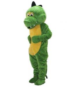 Strój chodzącej maskotki - Dino Zielonka