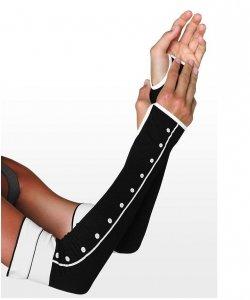 Rękawiczki - Guziki Długie