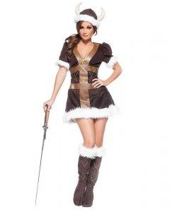 Kostium sceniczny - Dziewczyna Wikinga
