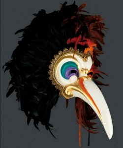 Maska wenecka - Toucan