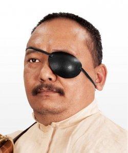 Akcesoria do kostiumu - Przepaska Na Lewe Oko Pirata