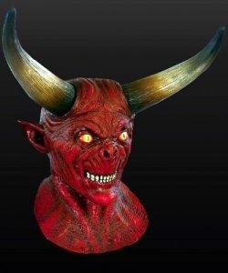 Maska lateksowa - Moloch