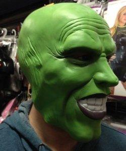 Maska lateksowa - Jim Carrey The Mask