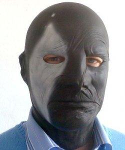 Maska lateksowa - Fantom