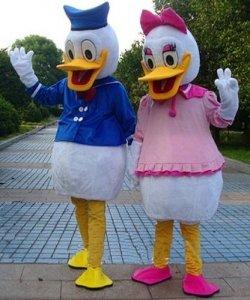Chodzące maskotki - Donald & Daisy Classic