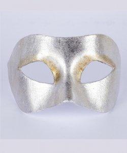 Maska wenecka - Colombina Piana Silver