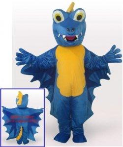 Strój reklamowy - Blue Dino