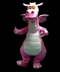Chodząca maskotka - Pink Dragon
