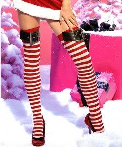 Pończochy samonośne - Miss Santa II