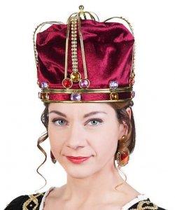Korona z wkładem - Queen Elisabeth Deluxe I Red