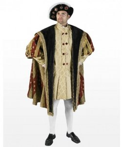 Kostium teatralny - Król Dynastia Tudorów