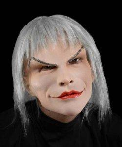 Maska lateksowa z peruką - Drag Queen