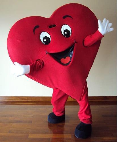 Strój reklamowy - Serce II