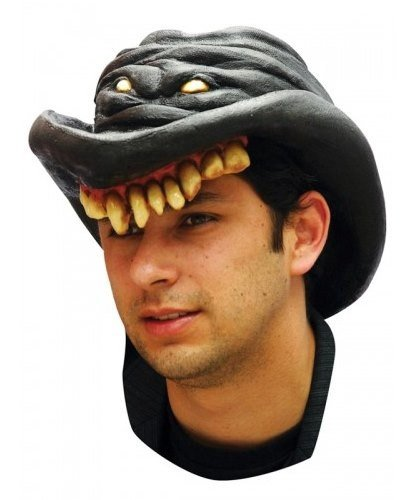 Kapelusz z lateksu - Scary Cowboy