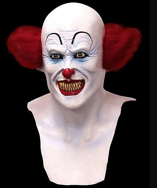 Maska lateksowa - S. King Pennywise Clown