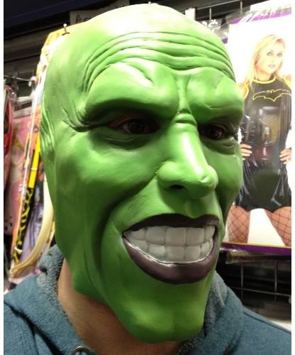 "Maska lateksowa - Jim Carrey ""The Mask"""