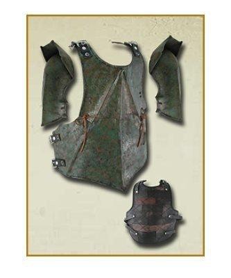 Zbroja orka - Zielona patyna : Napierśnik