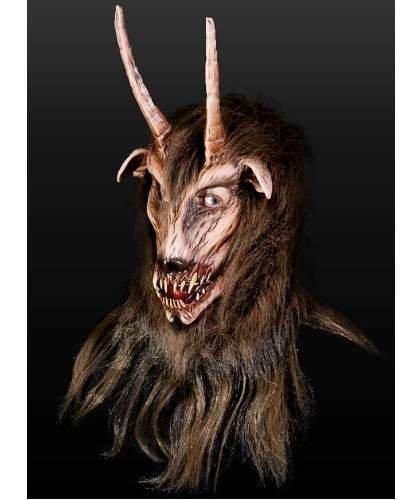 Maska lateksowa - Satyr