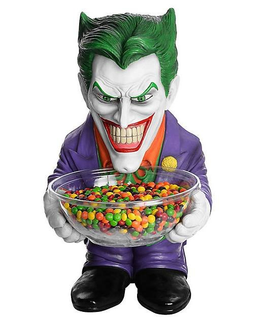 Ozdoba - Stojak na słodycze Batman Joker 50 cm