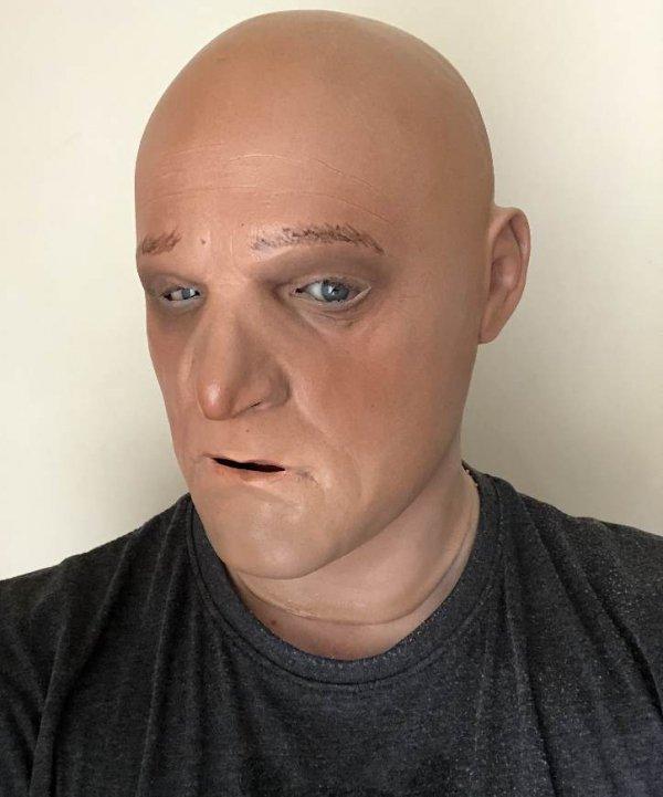 Maska lateksowa - Heniek
