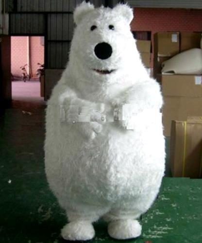 Chodząca maskotka - Miś Polarny Big Deluxe
