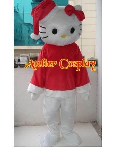 Strój reklamowy - X-mas Kitty
