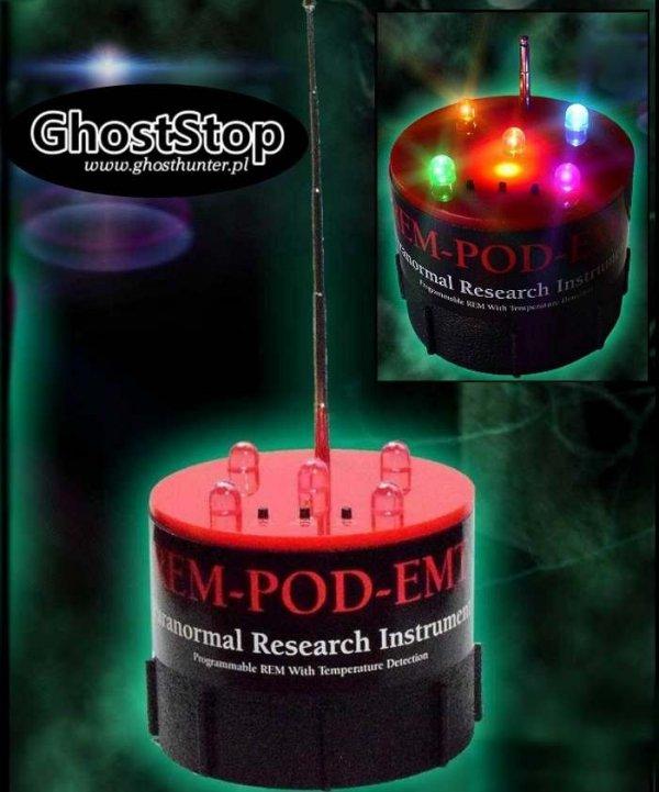 REM POD  - antena emitujaca pole elektromagnetyczne i czujnik temperatury