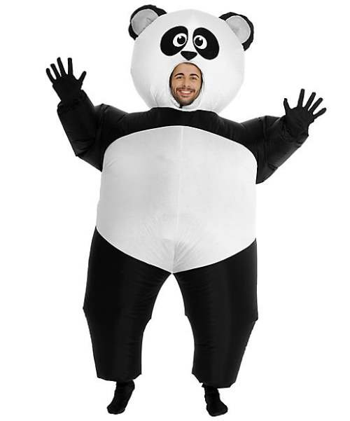 Nadmuchiwany kostium - Panda