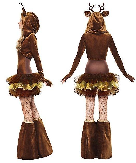 Seksowny kostium - Pani Renifer