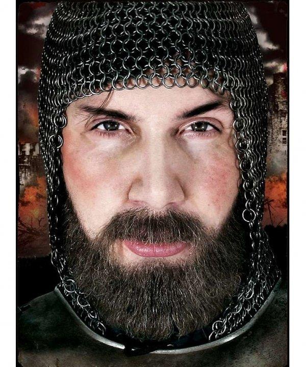 Naturalne wąsy & broda - Rycerz