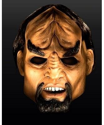 Maska lateksowa - Star Trek Next Generation Worf