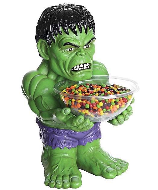 Ozdoba - Stojak na słodycze Hulk 45 cm