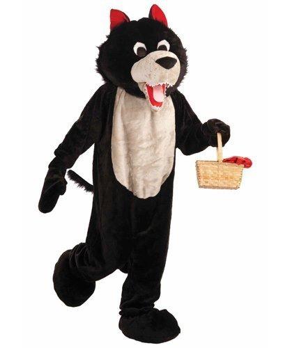 Chodząca maskotka - Wilk z Czerwonego Kapturka