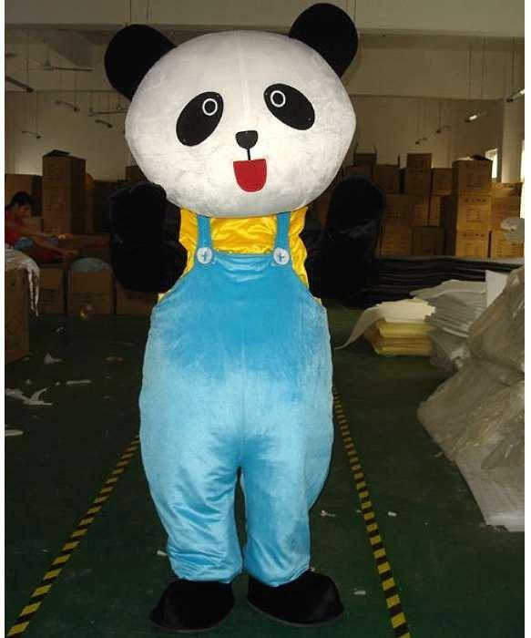 Strój chodzącej maskotki - Miś Panda Ogrodnik
