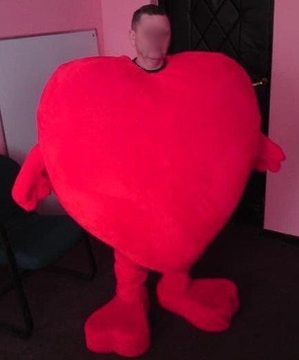 Strój reklamowy - Serce III